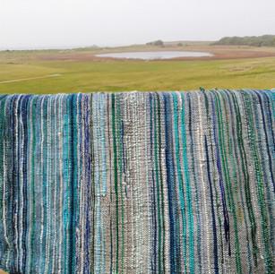 Baby blanket saori style