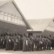 Boys Boardning - Uniform inspection every Monday morning, 1929