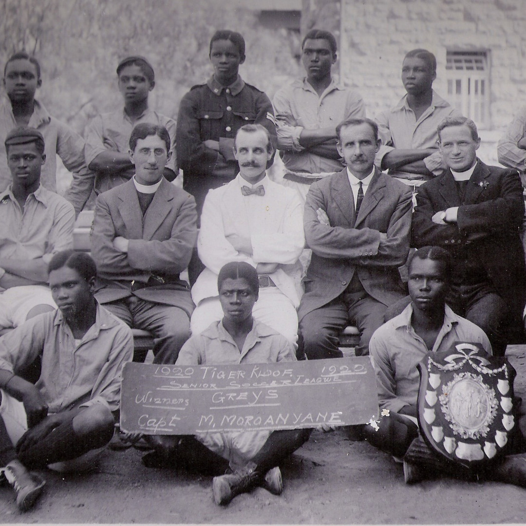 Tiger Kloof Soccer Winning Team, 1920