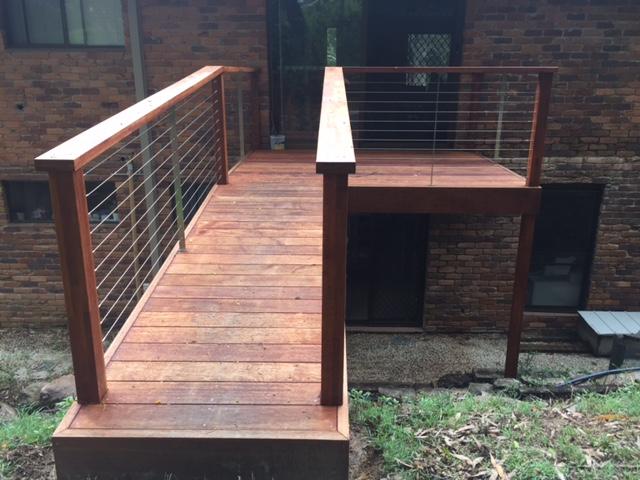 Watchorn Constructions Deck