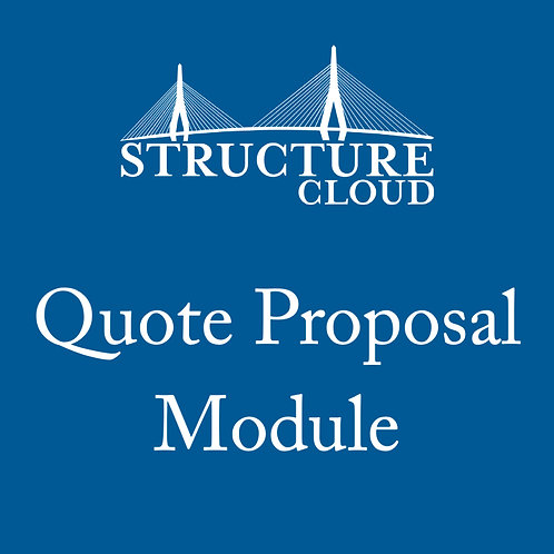 Quote Proposal Module