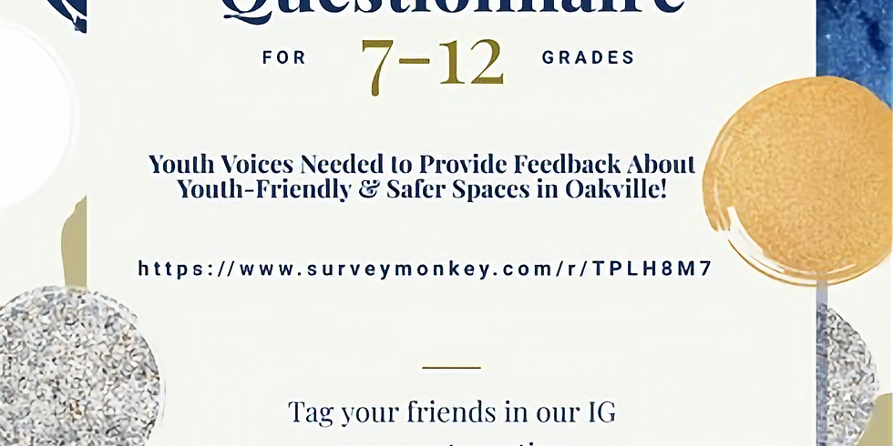 Youth Voices Matter Questionnaire
