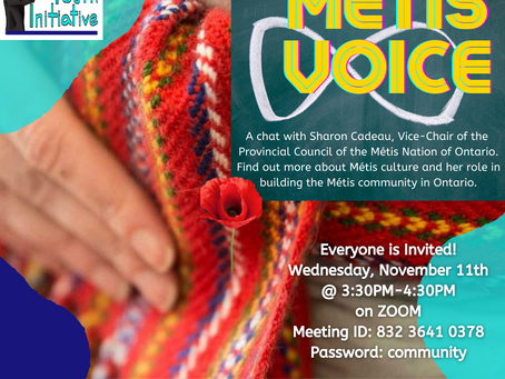 Métis Voice: Talking to Vice-Chair Sharon Cadeau from the Métis Nation of Ontario