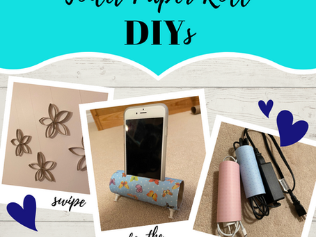 DIY Paper Towel Roll Crafts