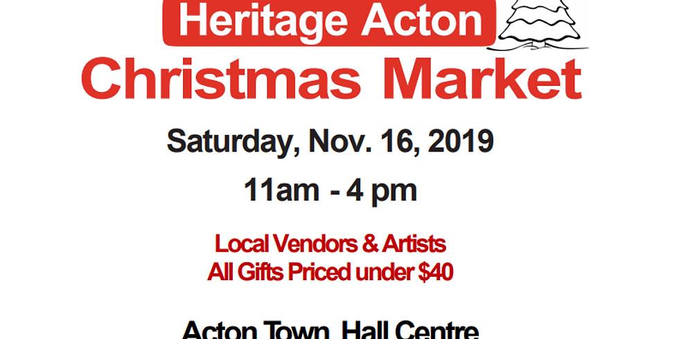 Heritage Acton Christmas Market
