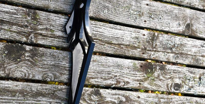 Aarni hanging hook, black