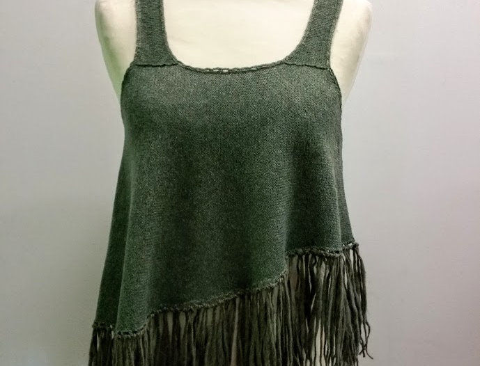Nordic Amazon top, Forest green