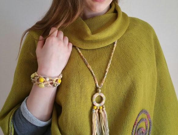 Sundrops pendant, yellow