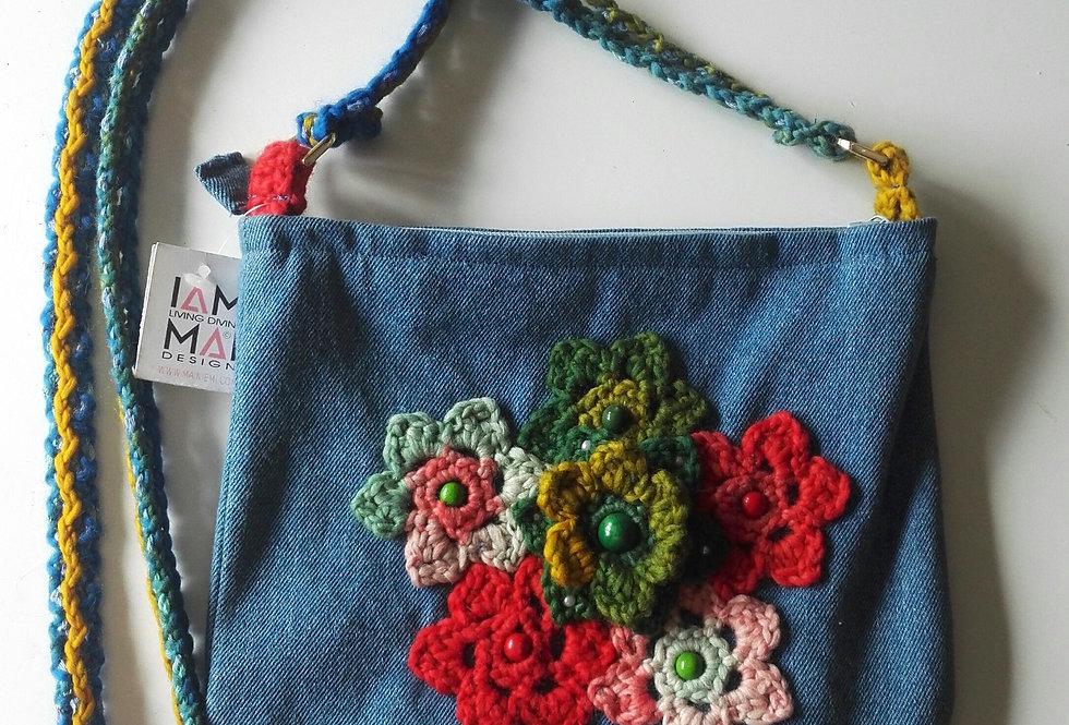 Lace flower bag