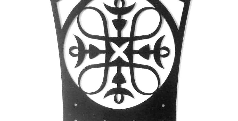 Hannu coat rack, black