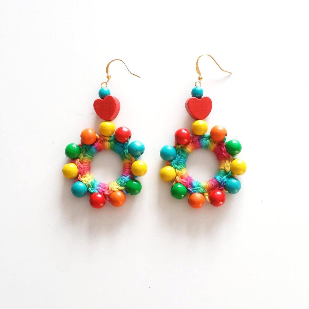 Sampo Wheel earrings
