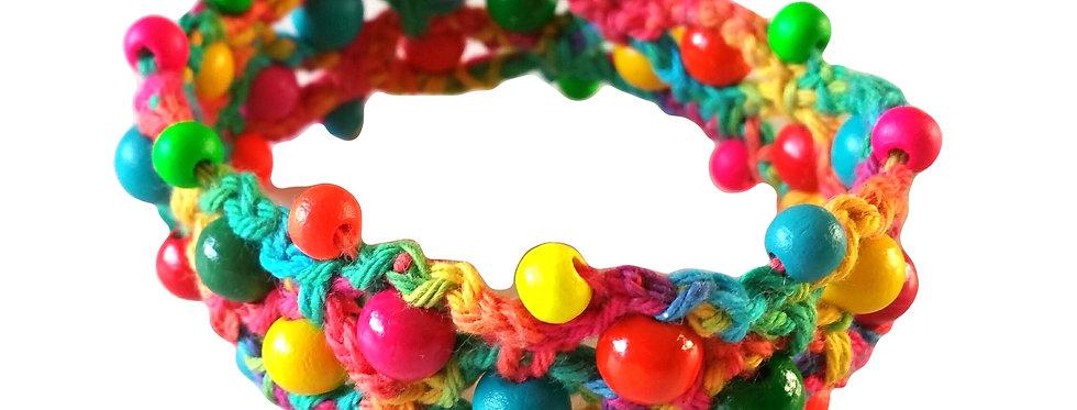 Fashion garden bracelet, multicolor