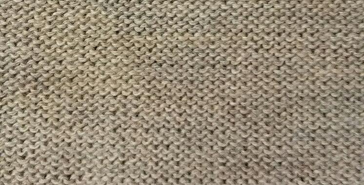 chalk knitted kalevala hood