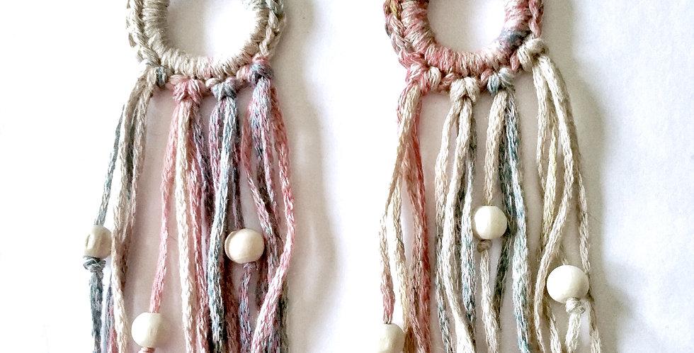 Kannel earrings, melange