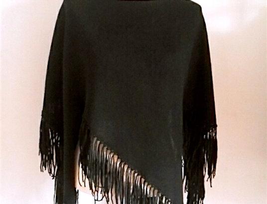 Sotka Star poncho, black