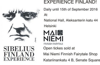 Mai Niemi starts cooperation with Sibelius Finland Experience