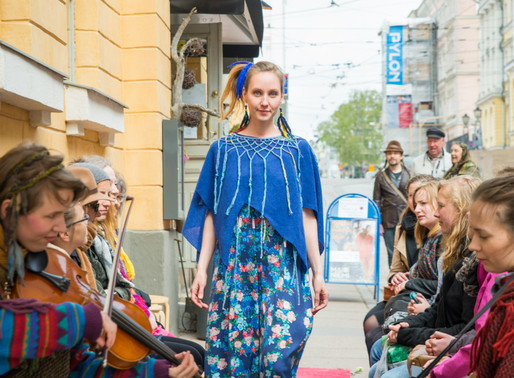 Mai Niemi Design Street Fashion show
