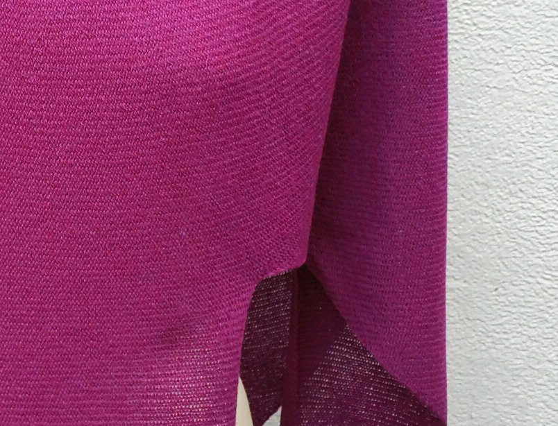 """Nordic Star"" Poncho (purple)"