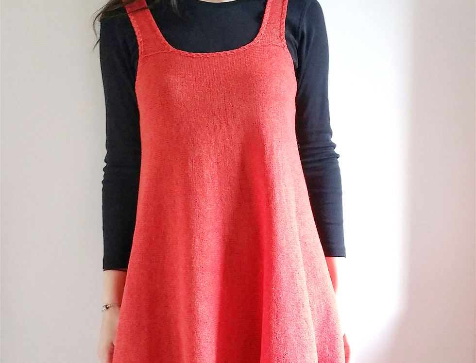 Forest maiden dress, Orange