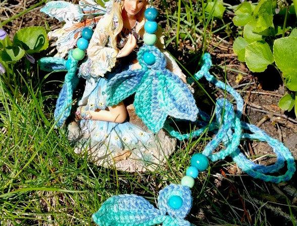 Fairytale jewelry set, turquoise