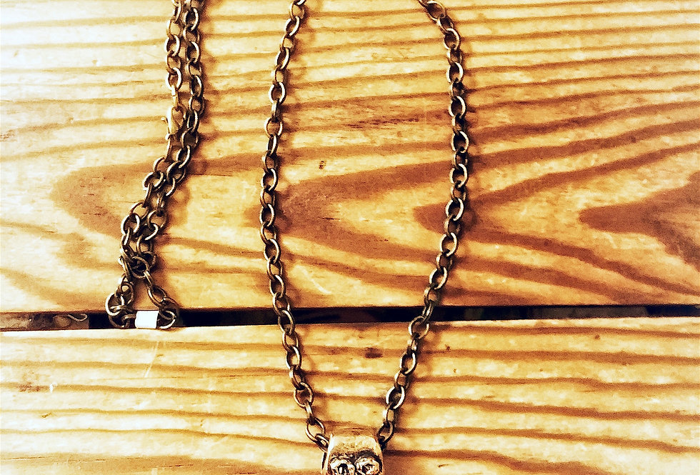 Thor necklace, gold