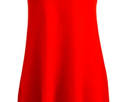 Nordic Amazon fringe dress (Red)