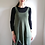 Thumbnail: Forest maiden dress, Forest green