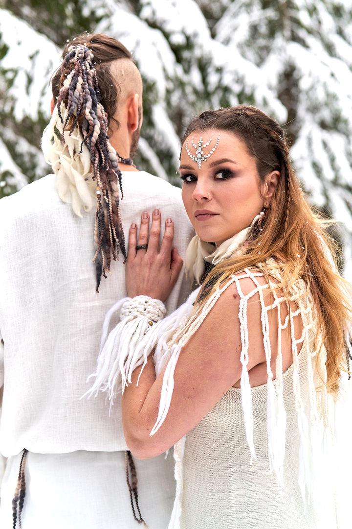 Kalevala wedding bride