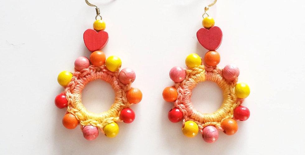 Sampo wheel earrings, Golden Age