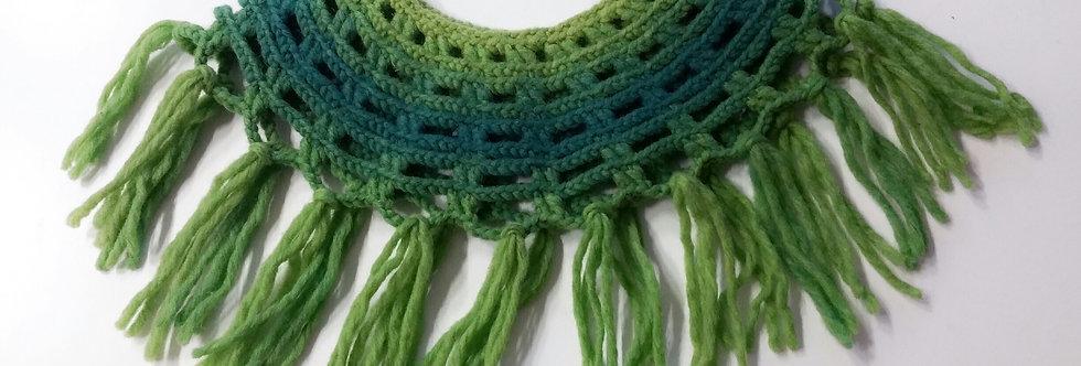 Sampo warming collar, green