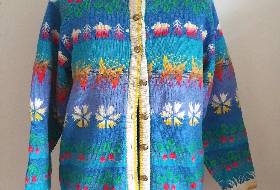 Summer dream jacket, turquoise