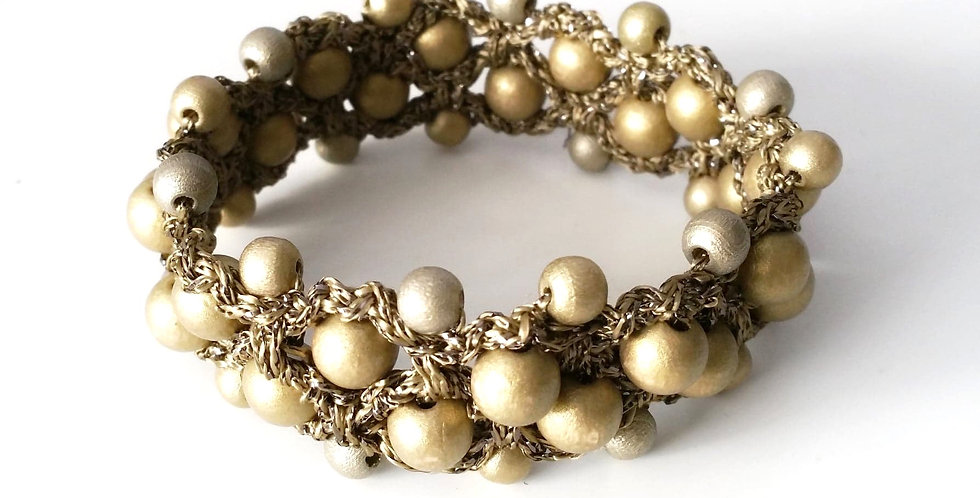 Sun Goddess bracelet, bronze