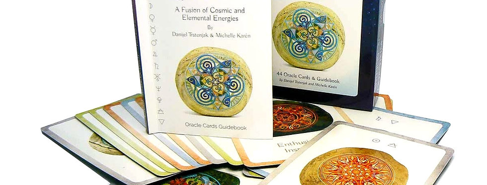 Attuning to Quantum oracle cards and guidebook