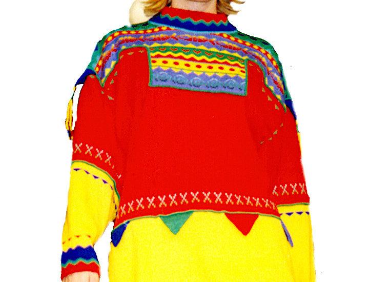 Arctica pullover, red