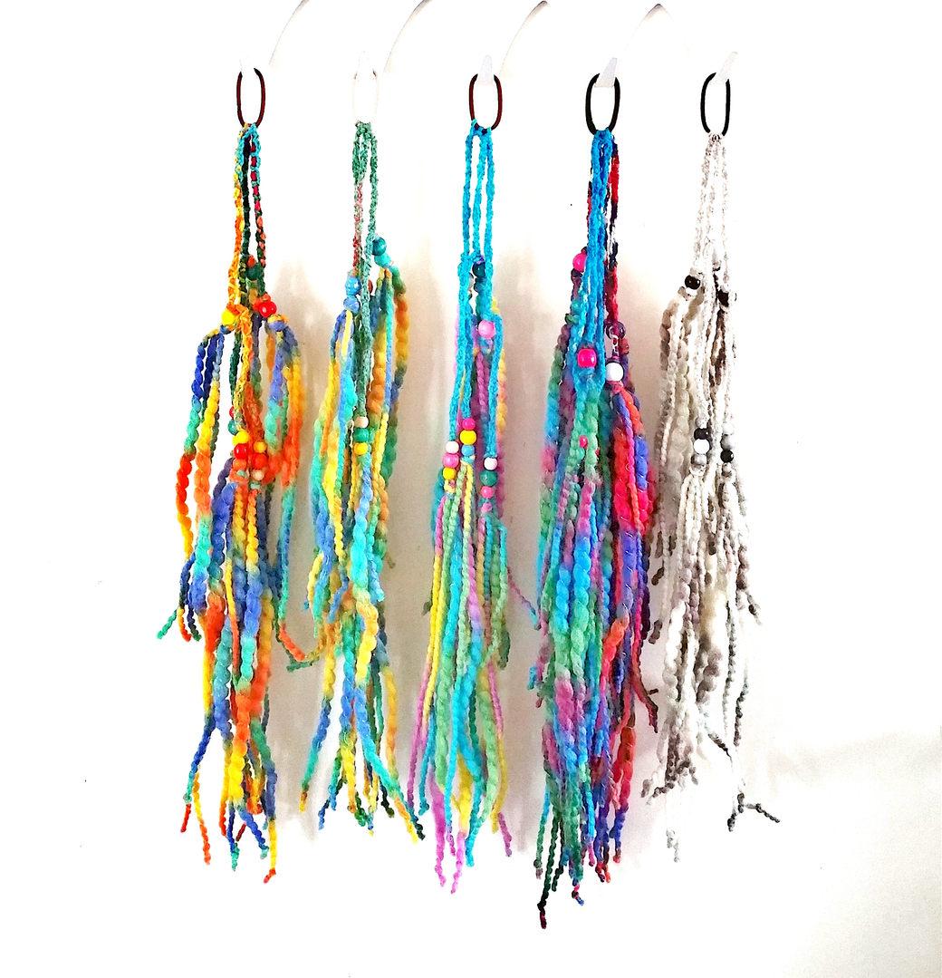 Mermaid hair bands