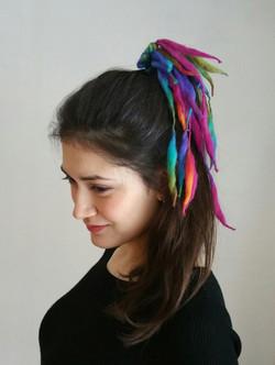 City Shaman hairband rainbow
