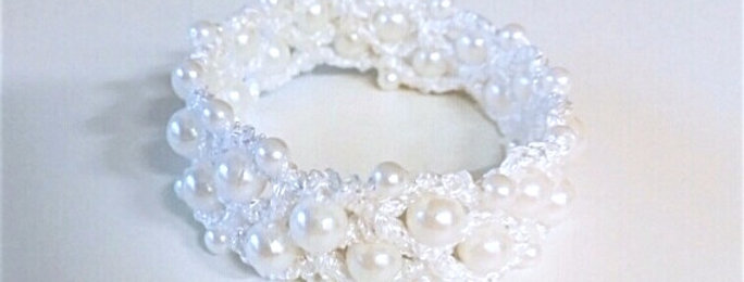 Miss Universe bracelet, crystal white