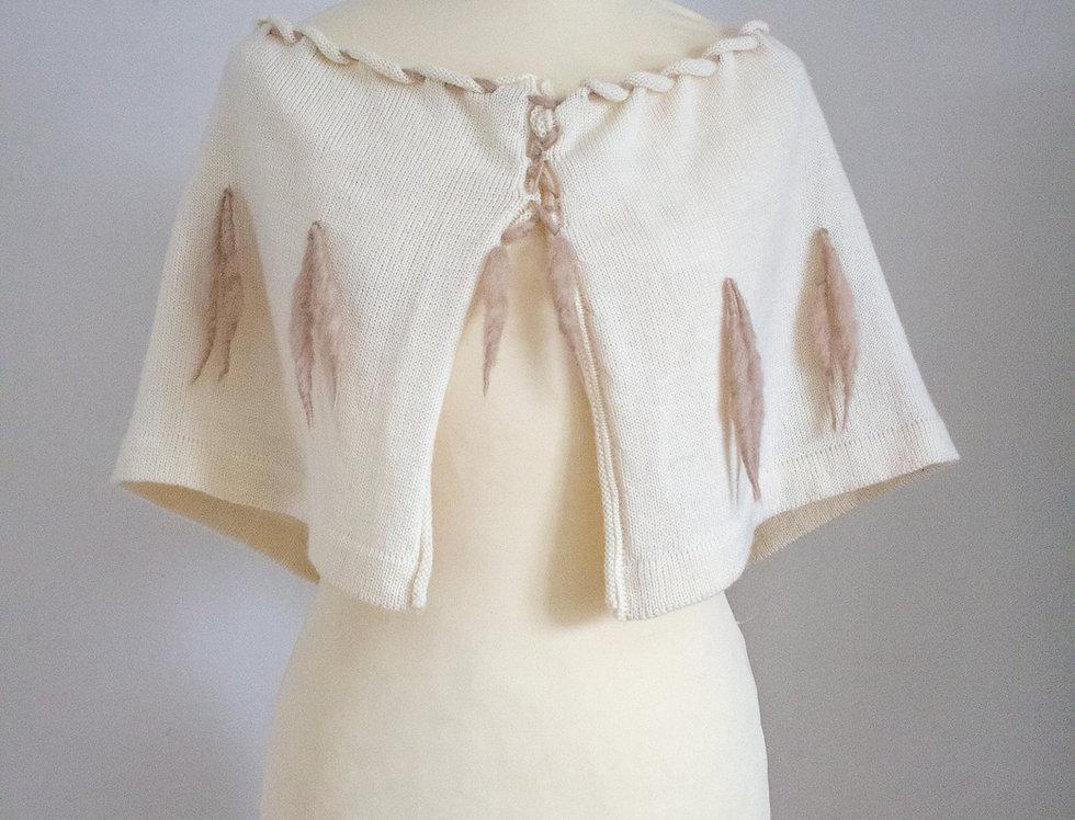 Ermine shawl