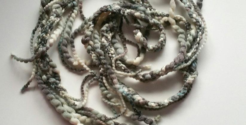 Tundra coloured crocheted City Shaman garland