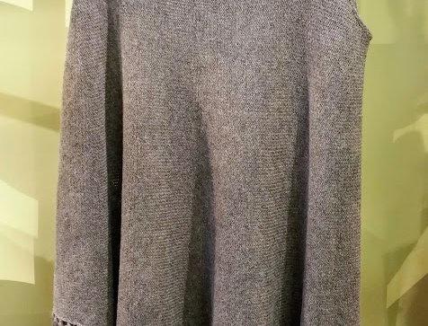 nutria knitted nordic amazonfringe tunic