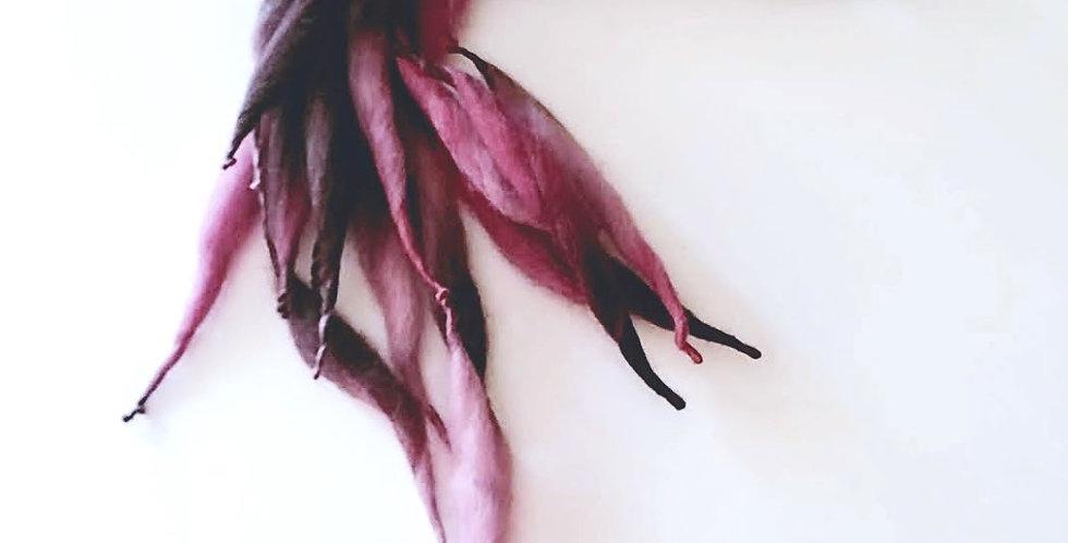 Dragon Hair clip (Amethyst)