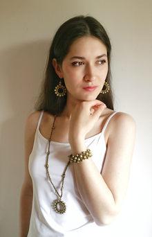 Sun Goddess jewelry set