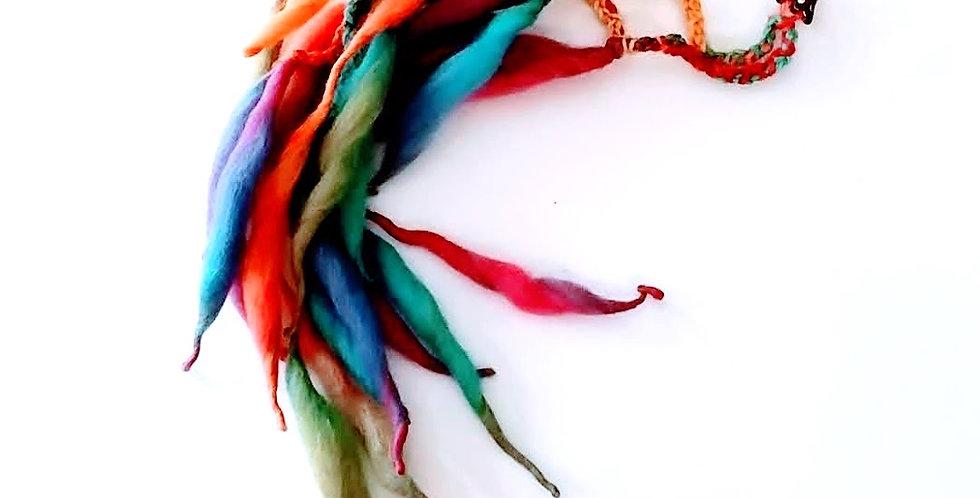 Dragon Hair clip (Fairy Mist)