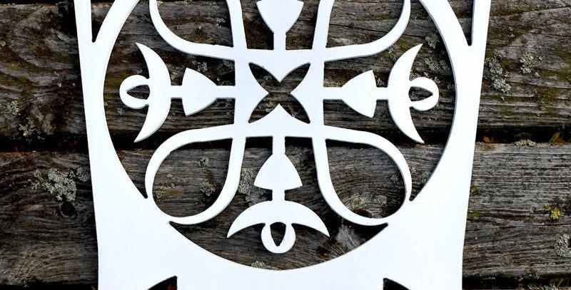 Hannu coat rack, white