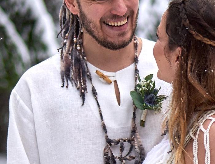 Tribal pendant, bark