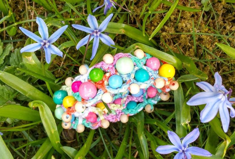 Magic circle bracelet, pastel
