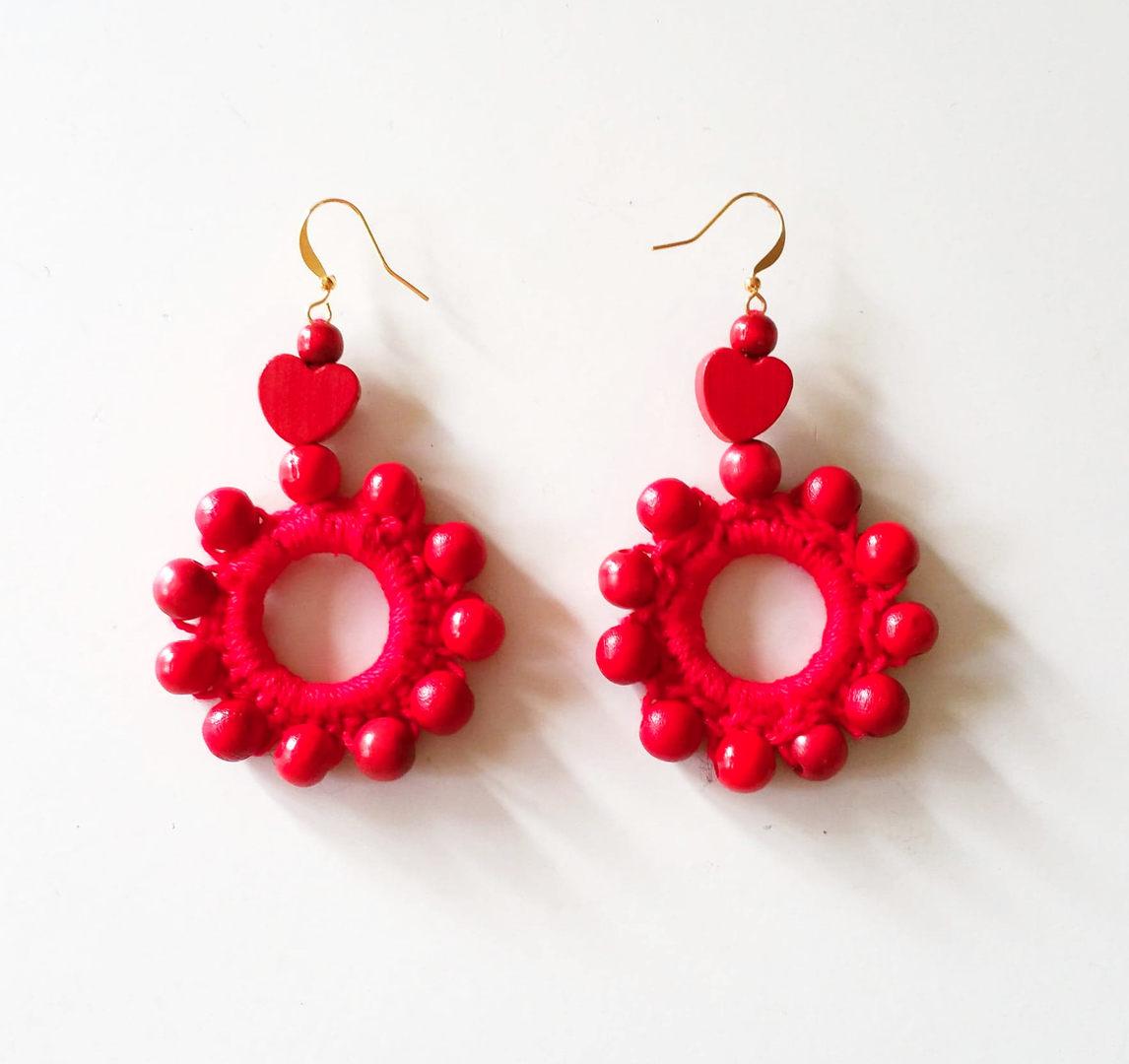 Sunheart earrings