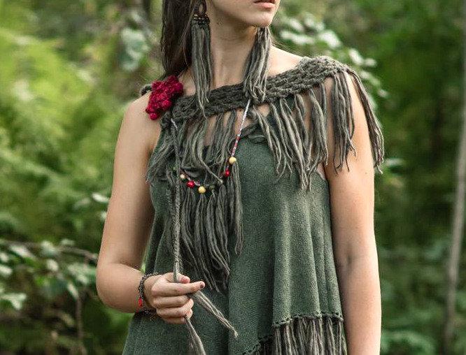 Nordic Amazon vest (green)