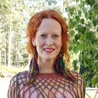Saimi Hoyer and Tribe earrings