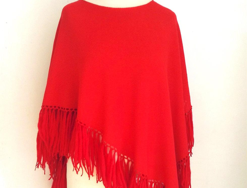 Dervish poncho (Red)